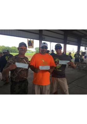 1st, 2nd, & 3rd Place in Sac-A-Lait Category, Hercules Fishing Rodeo