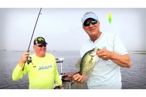 Fishing for Sac-a-lait with Castin' Cajun